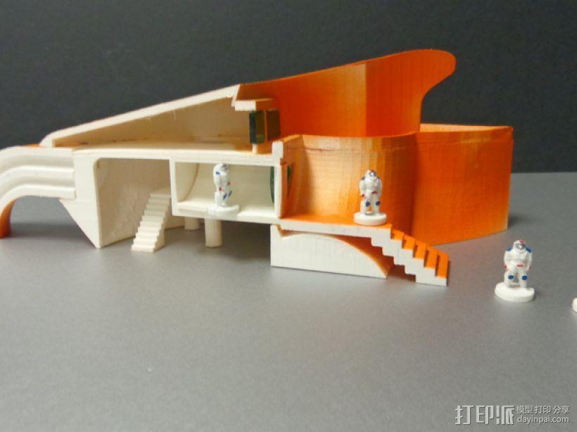 火星基地 太空舱模型 3D模型  图6