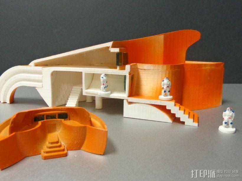 火星基地 太空舱模型 3D模型  图7