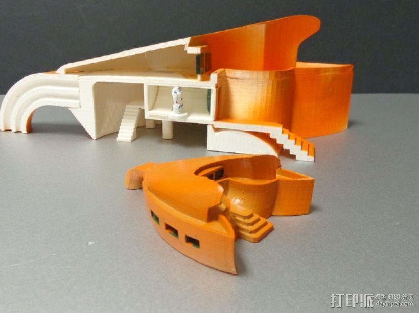火星基地 太空舱模型 3D模型  图8