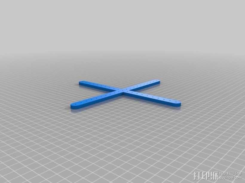 三角绘图尺 3D模型  图2