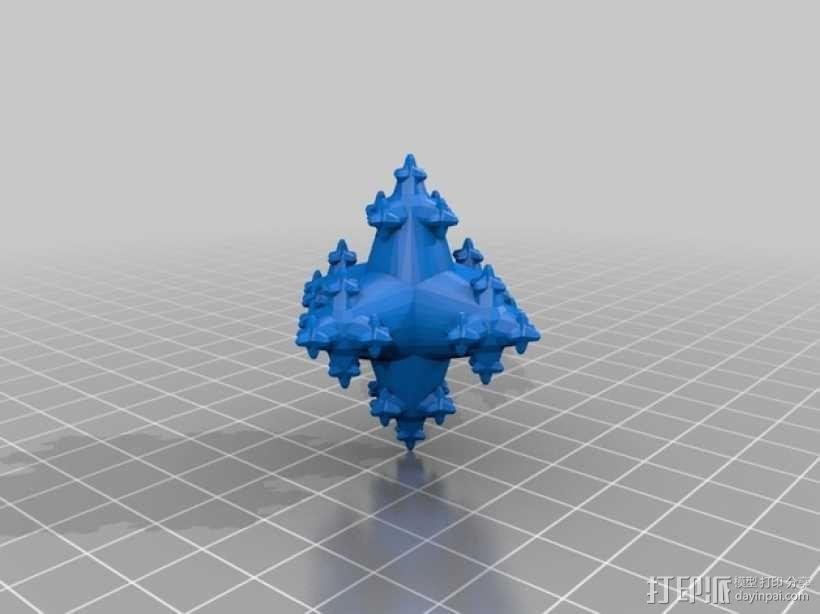 立方分形模型 3D模型  图1