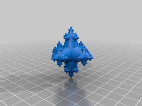立方分形模型 3D模型