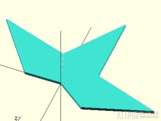 七面体 3D模型  图4