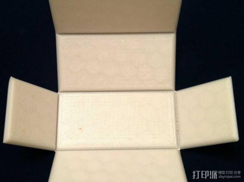长方体 几何体 直角棱柱 3D模型  图1