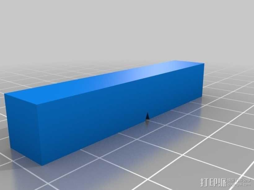 长方体 3D模型  图1