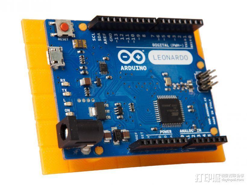 Rokenbok Arduino 电路板底座 3D模型  图1