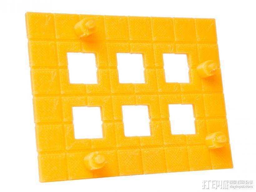 Rokenbok Arduino 电路板底座 3D模型  图2