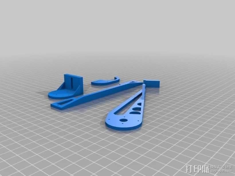 伺服机构臂 3D模型  图1