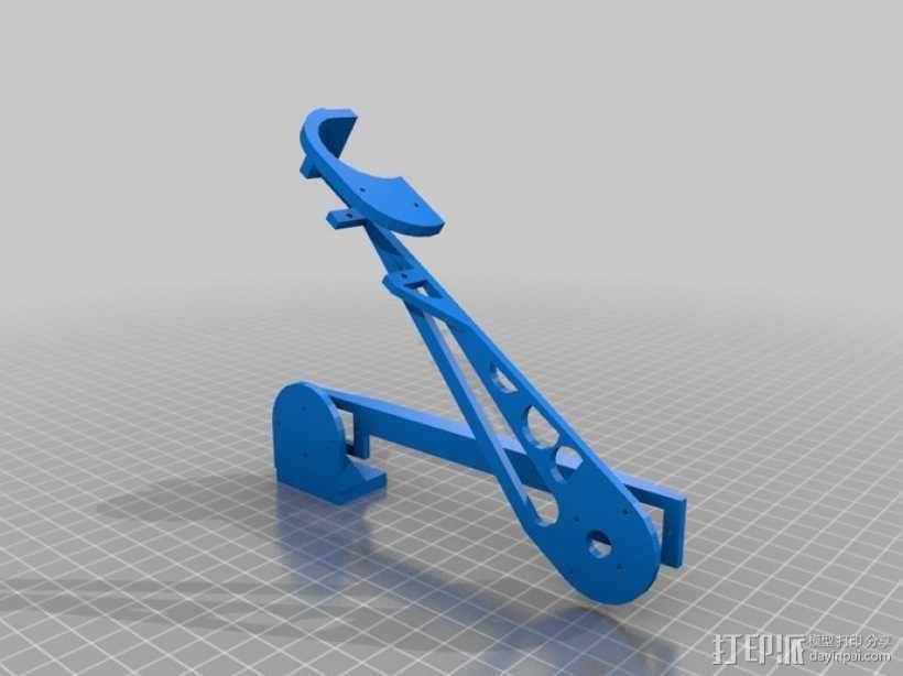 伺服机构臂 3D模型  图2