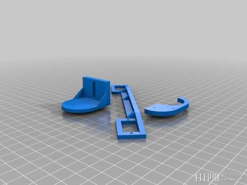 伺服机构臂 3D模型  图3