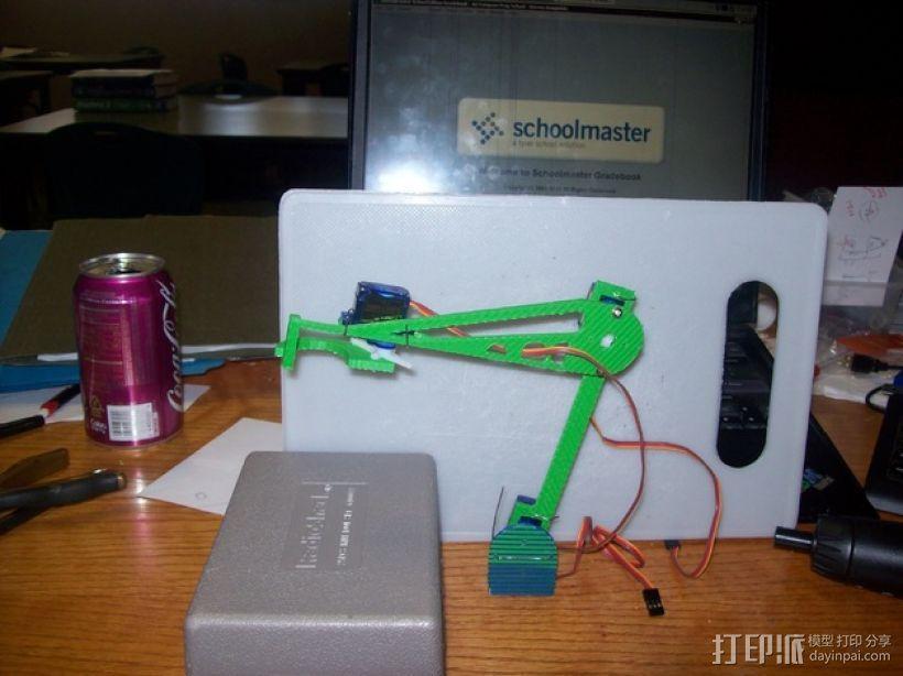伺服机构臂 3D模型  图5