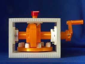蜗形凹轮分度箱 3D模型