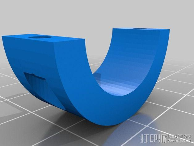 蜗形凹轮分度箱 3D模型  图3