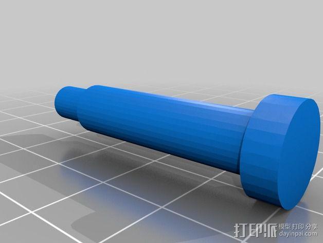 蜗形凹轮分度箱 3D模型  图5