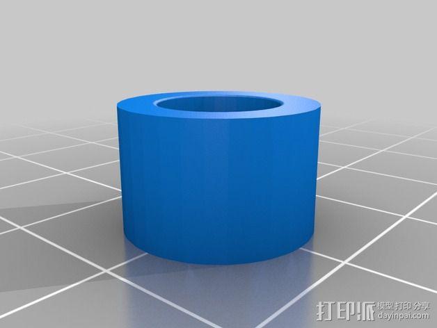 蜗形凹轮分度箱 3D模型  图7