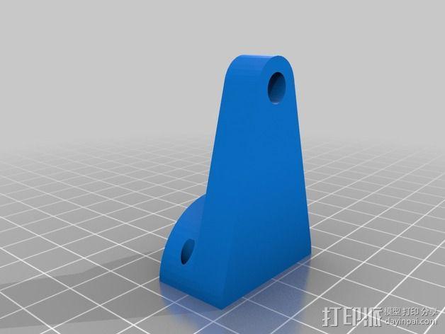 蜗形凹轮分度箱 3D模型  图9