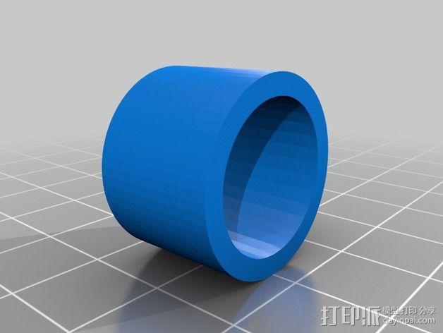 蜗形凹轮分度箱 3D模型  图10