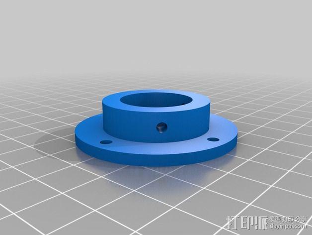 蜗形凹轮分度箱 3D模型  图12
