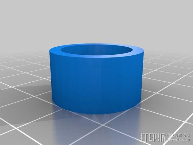 蜗形凹轮分度箱 3D模型  图13