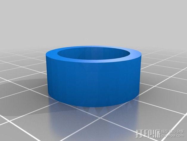 蜗形凹轮分度箱 3D模型  图15