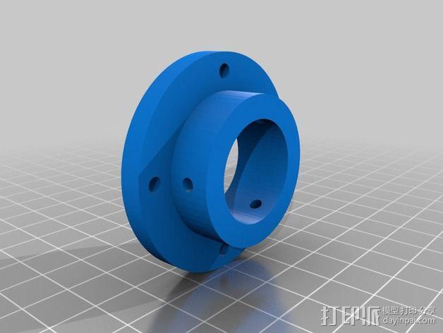 蜗形凹轮分度箱 3D模型  图14