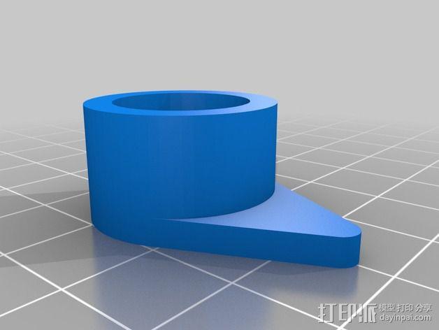 蜗形凹轮分度箱 3D模型  图16