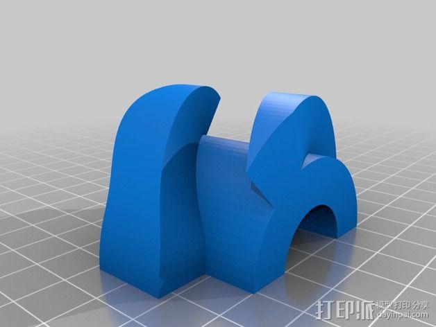 蜗形凹轮分度箱 3D模型  图18