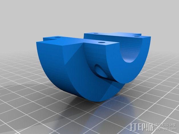 蜗形凹轮分度箱 3D模型  图19