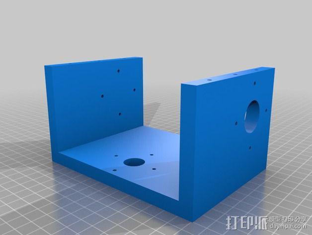 蜗形凹轮分度箱 3D模型  图20