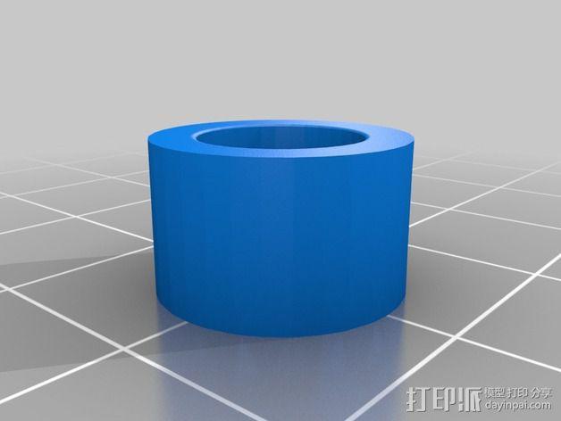蜗形凹轮分度箱 3D模型  图21