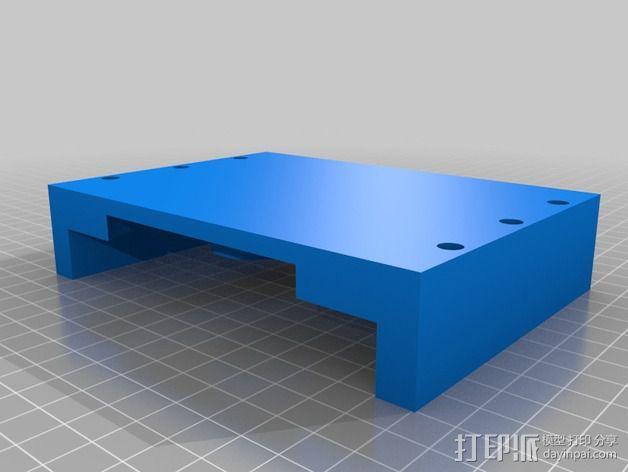 蜗形凹轮分度箱 3D模型  图23