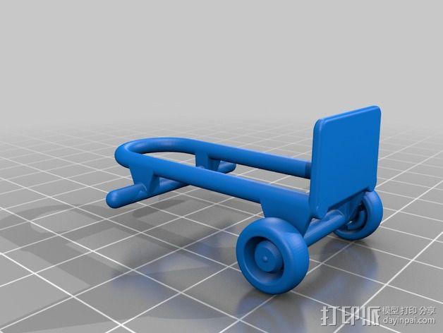 Rokenbok手推车模型 3D模型  图2