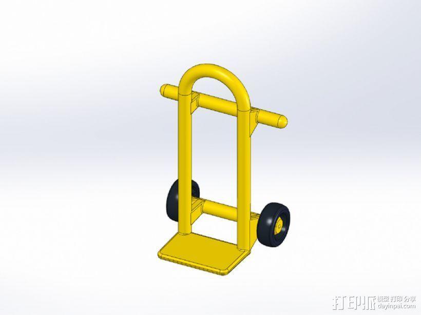 Rokenbok手推车模型 3D模型  图1