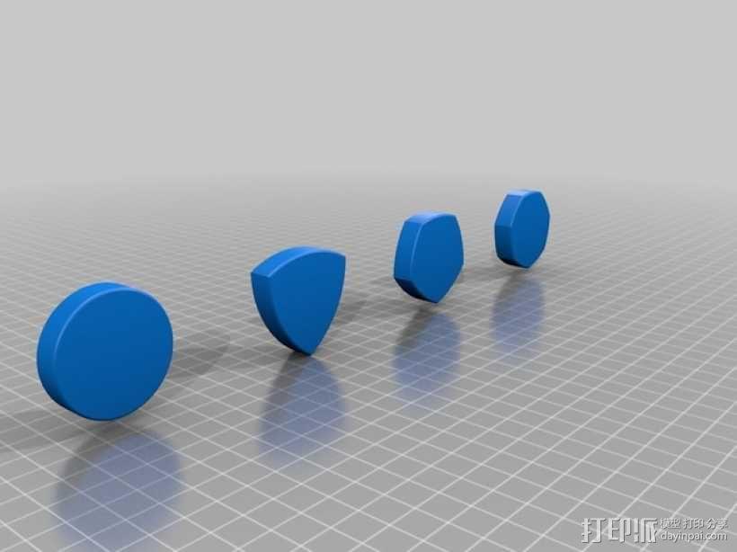 鲁洛多边形模型 3D模型  图1