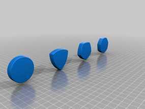 鲁洛多边形模型 3D模型