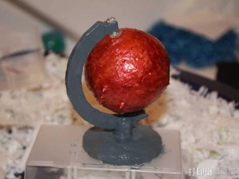 火星仪 3D模型  图3