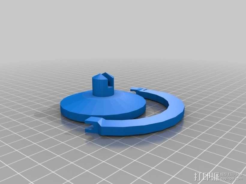 火星仪 3D模型  图6