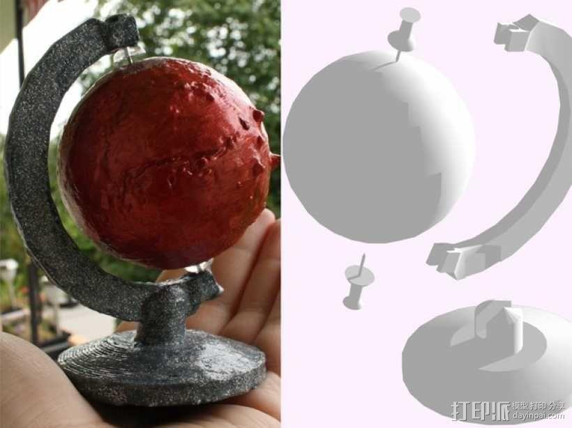 火星仪 3D模型  图12