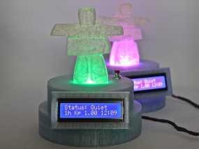 极光监控仪 3D模型