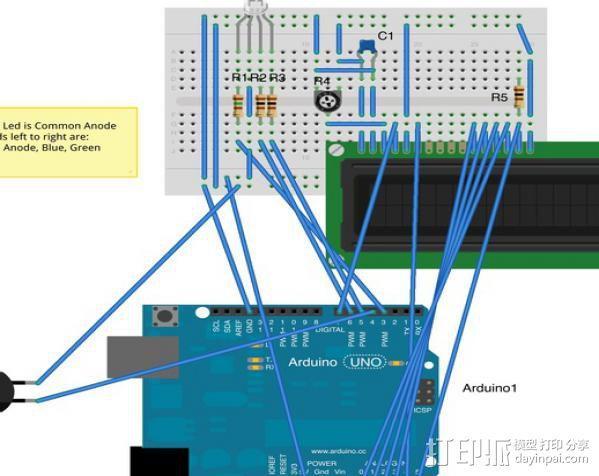 极光监控仪 3D模型  图5