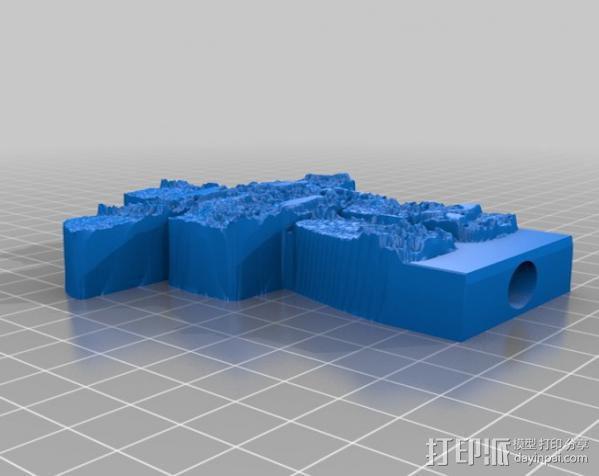 极光监控仪 3D模型  图12