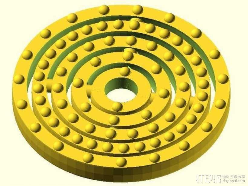原子模型 3D模型  图3