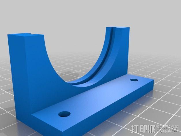 镜片架 3D模型  图3