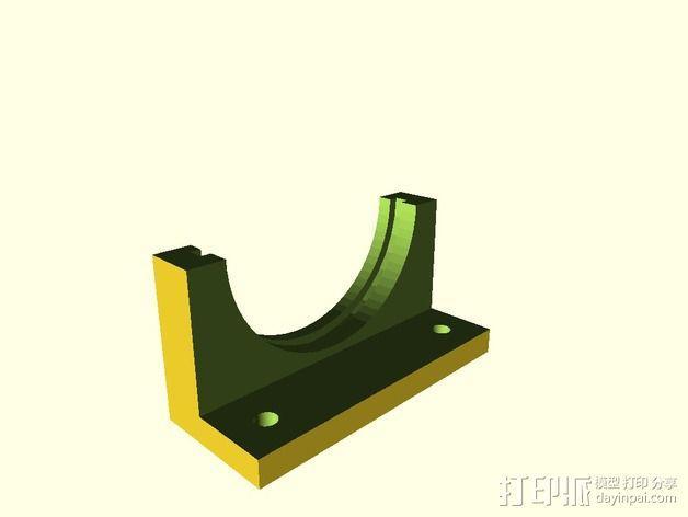 镜片架 3D模型  图4