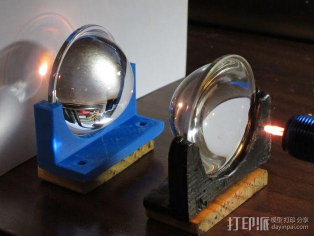 镜片架 3D模型  图5