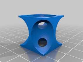 体心立方晶格模型 3D模型