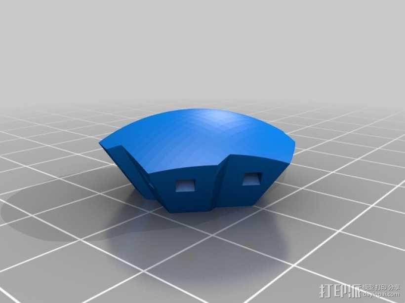 球体 3D模型  图1