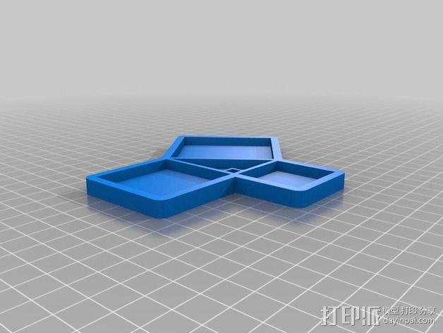 毕达哥拉斯定律 勾股定律教学工具 3D模型  图4