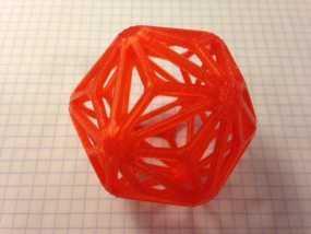 线形正二十面体 3D模型