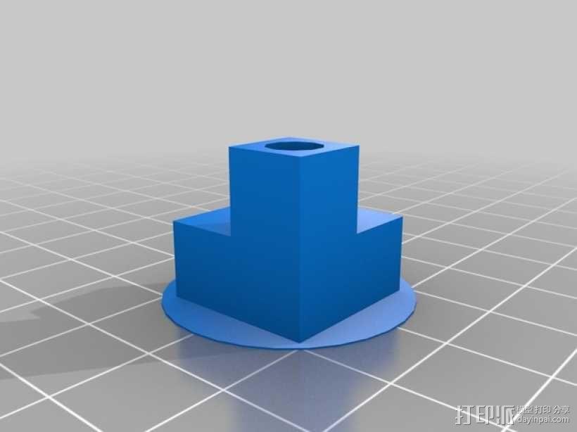 直角连接器 3D模型  图1